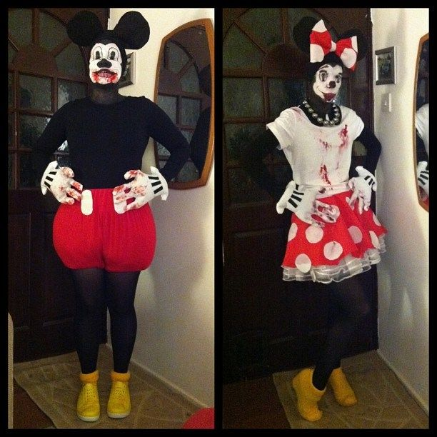 Zombie Mickey & Minnie Mouse | Tails From The Crypt ...