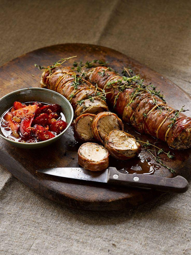 Pork tenderloin with plum sauce | Home. | Pinterest
