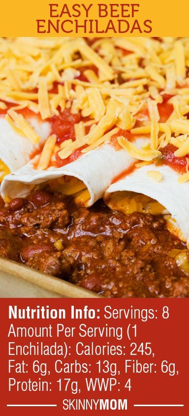 These Easy Beef Enchiladas are a GREAT Mexican dish your whole family ...