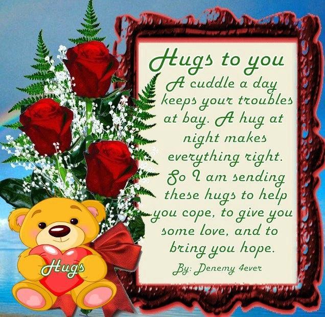 Good Morning Love And Hugs : Good morning https facebook photo php fbid