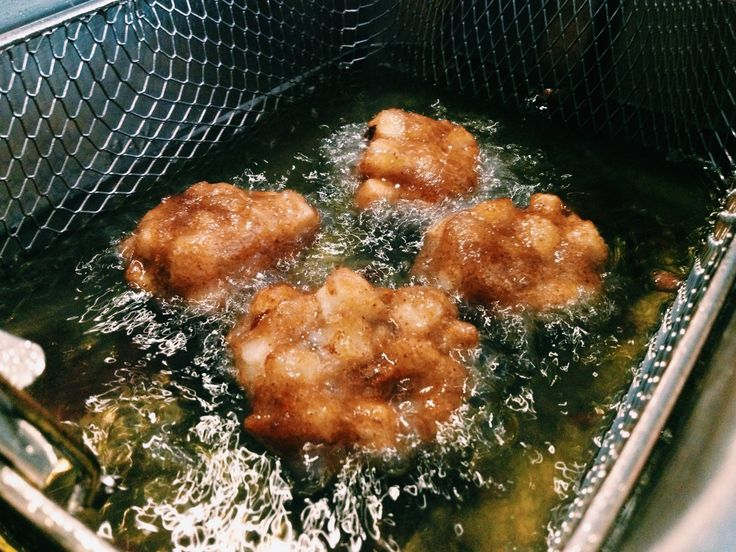 Deep fried goodness a la #CookingwithPower. Emeril Lagasse's Apple ...