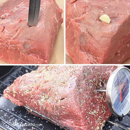 Garlic Lover's Roast Beef | Skinnytaste