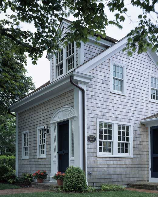 House in cape cod exteriors pinterest for Shakes on house