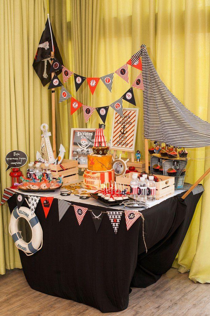 Пиратская вечеринка украшение зала своими руками 70