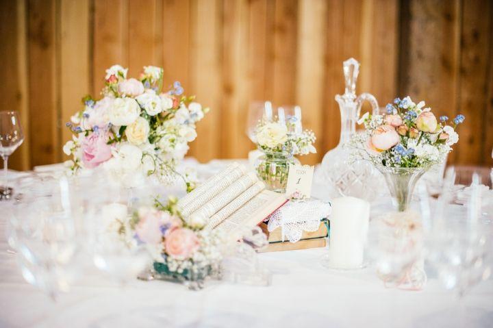 Vintage Hochzeit auf dem Steinbachhof  wedding table decor  Pintere ...