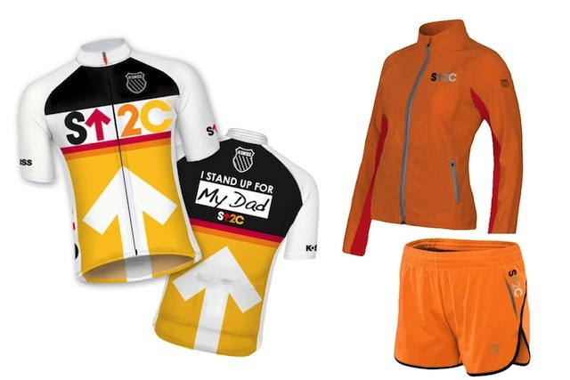 Want to Stand Up To Cancer in your next running race or triathlon? Now you can with athletic wear by K-Swiss.