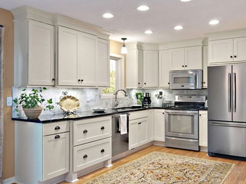 Clear White Kitchen Cabinets Paint Kitchen Cabinets Pinterest