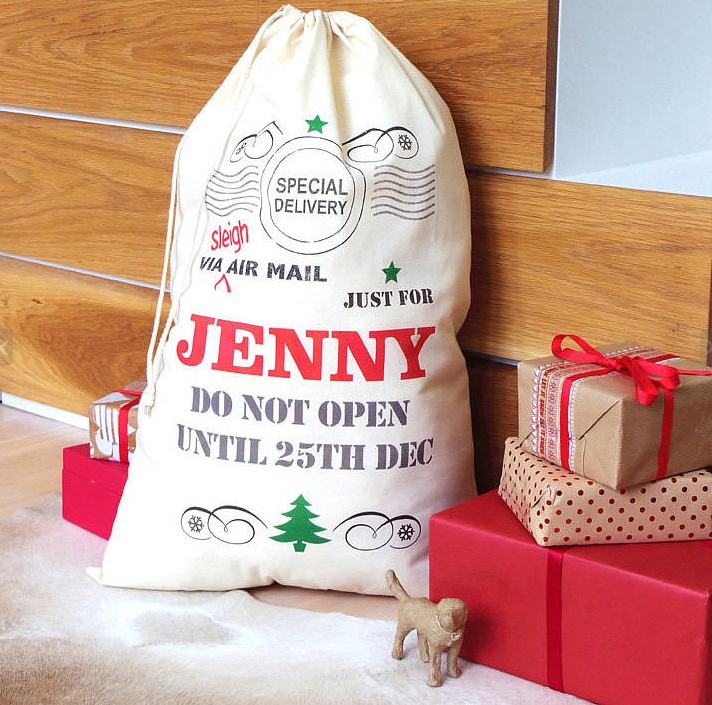 Christmas toy bags pinterest