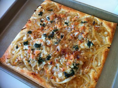 Week of Menus: Caramelized Onion and Gorgonzola Tart: Getting REALLY ...