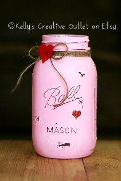 valentine's day gift jar