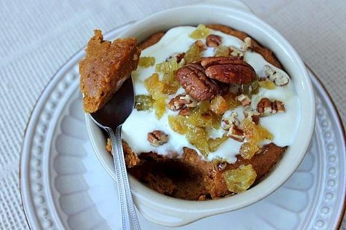 Vegan Instant Pumpkin Breakfast Buckwheat Bake