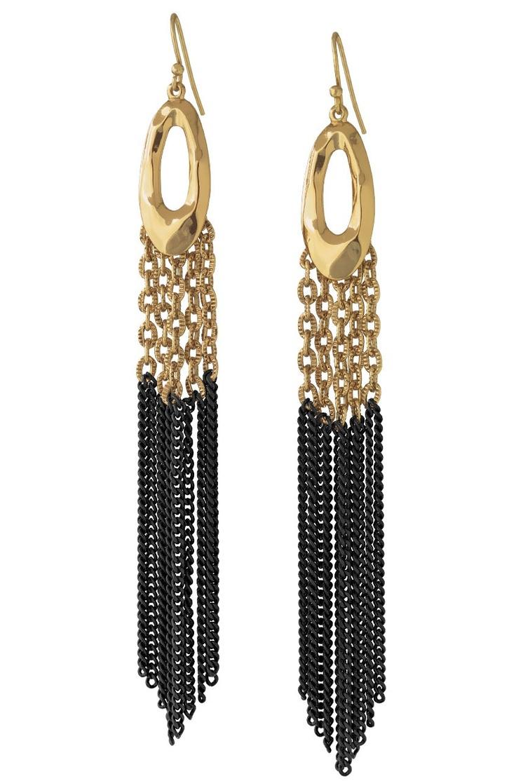 $54 Lillith Fringe Earrings E190