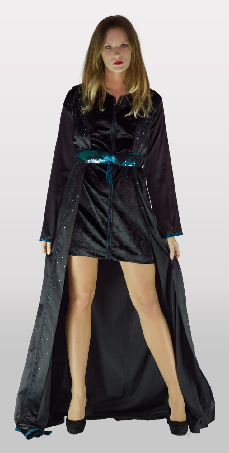 pin caftan velours de soie haute couture massy palaiseau 91120 ile on pinterest. Black Bedroom Furniture Sets. Home Design Ideas