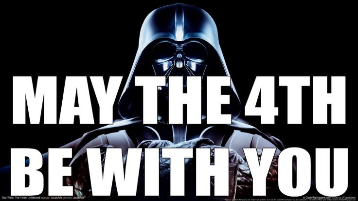 Star Wars day | May The Force Be With You | Pinterest