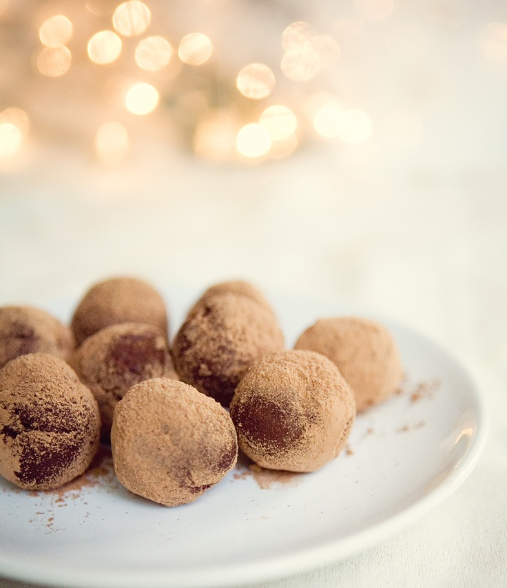 chocolate vegan truffles with limited edition peppermint mocha Kahlua ...