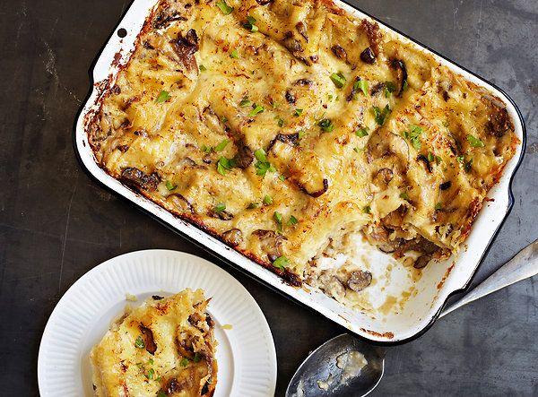 Mushroom Lasagna | Looks Yummy | Pinterest