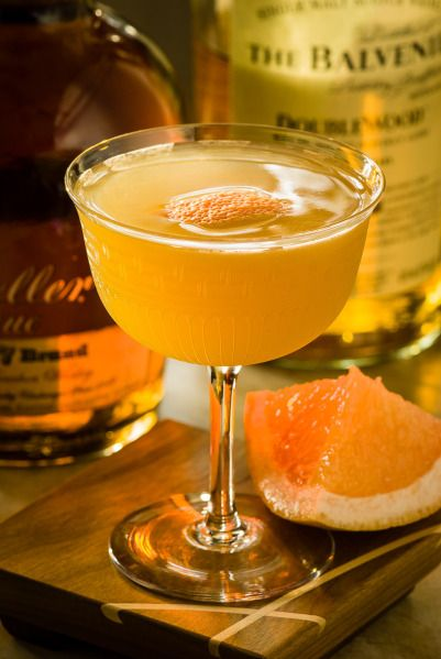 The Brown Derby Cocktail (De Rigueur) | ~ Drinks ~ | Pinterest