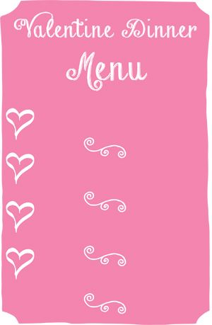 good valentine day dinner recipes for two