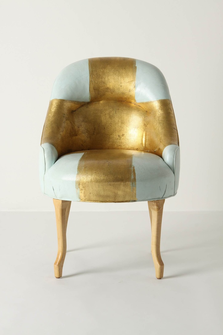Painted Bias Armchair. Anthro is rocking my world today