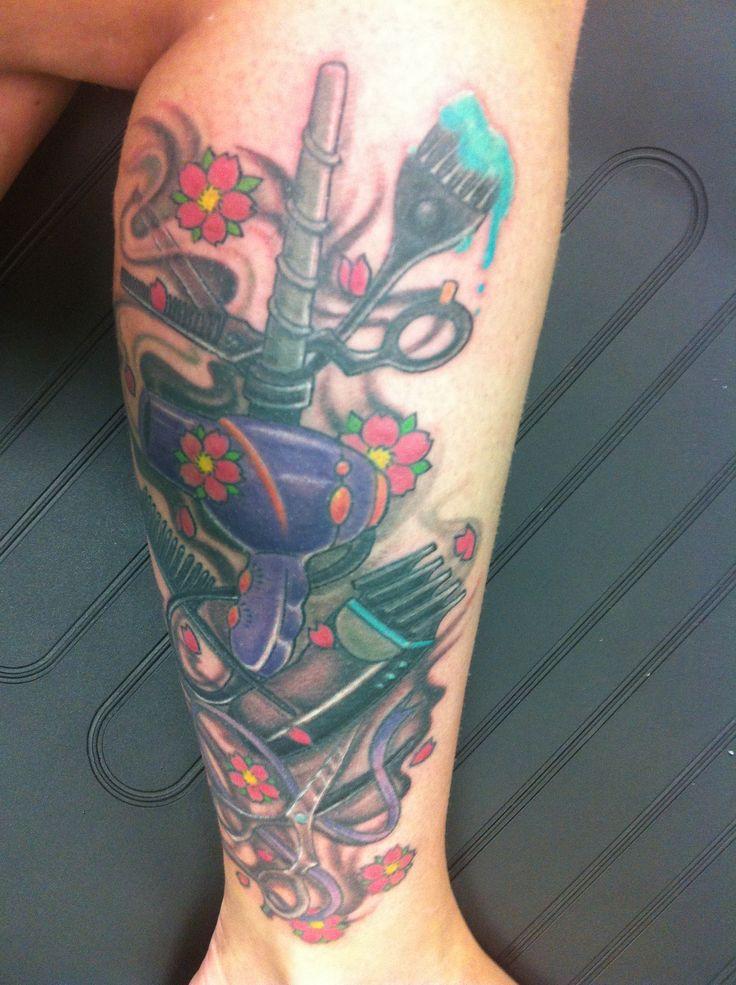 Hairdresser tattoo