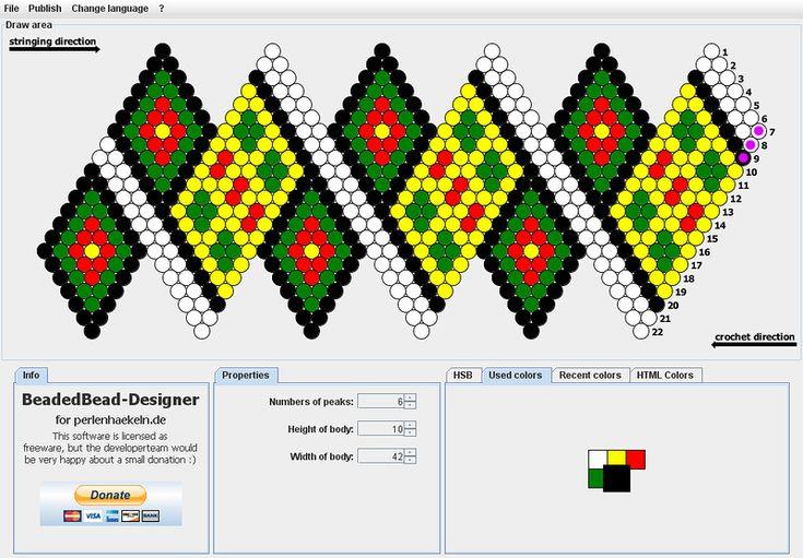 Схемы вязания бусин из бисера 54