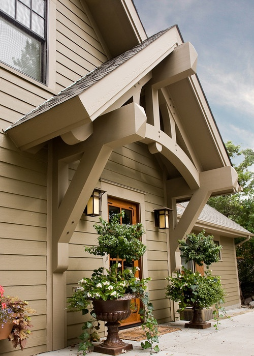 Side porch roof home exteriors pinterest for Side porch designs