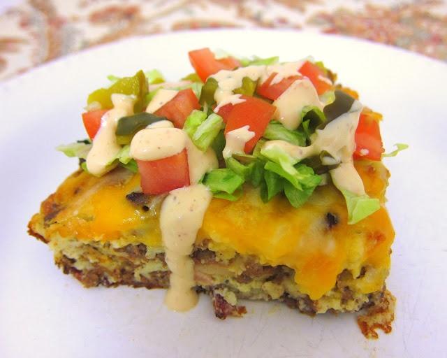 Bacon Cheeseburger Pie | Recipes 2 | Pinterest