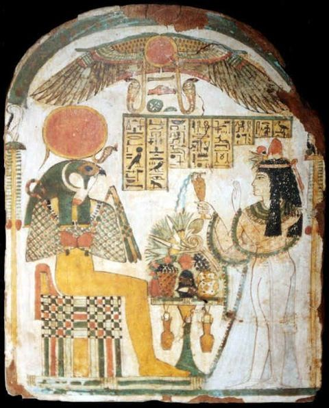 egypt throne