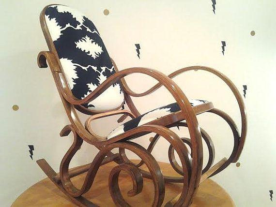 THE ROCKER: JAGGER... Rocking Chair - Mid-Century Design Chair - Upho ...