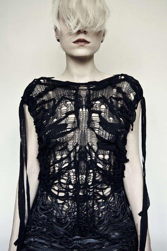 Valeriya Olkhova Organic Fxtish 2 stunning knitwear ! #embellishment techniques