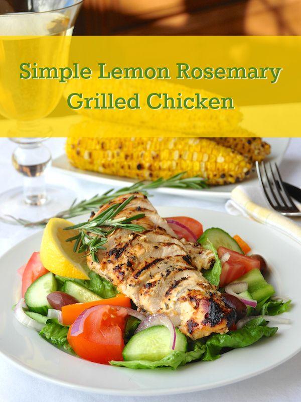lemon chicken skewers with dijon mayo honey lemon rosemary grilled ...