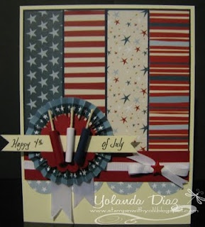 4th of july handmade card ideas