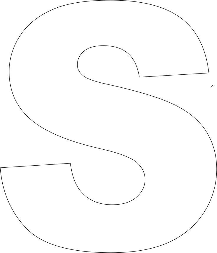 large size alphabet letter printable printable alphabet print big ...