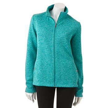 Croft and Barrow Fleece Jacket | My Style | Pinterest