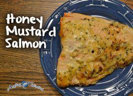 Honey Mustard Salmon   Food   Pinterest