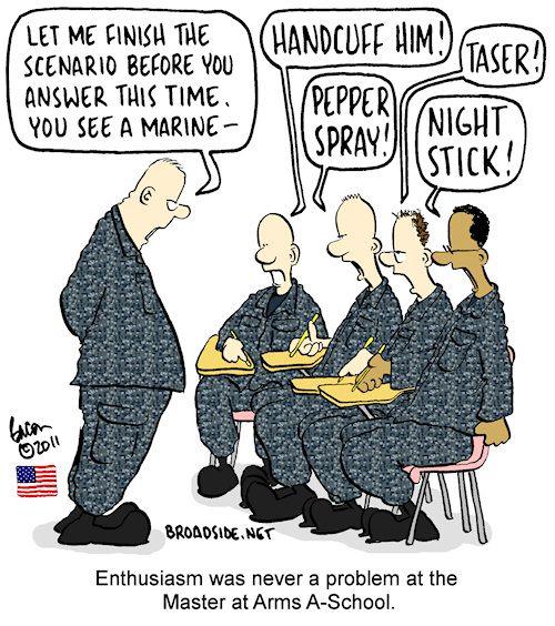 Navy jokes about marines