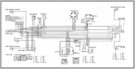 Honda C100 Wiring Diagram