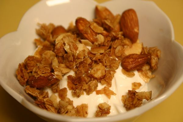 Coconut Almond Granola | What's Cookin' | Pinterest