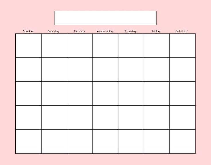 Best 25+ Blank calender ideas on Pinterest | Free blank calendar ...
