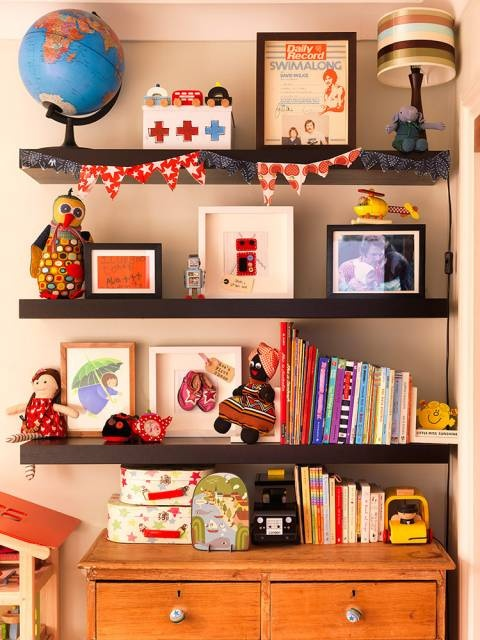 Shelves great wall decoration kids room ideas pinterest for Bookcases for kids room