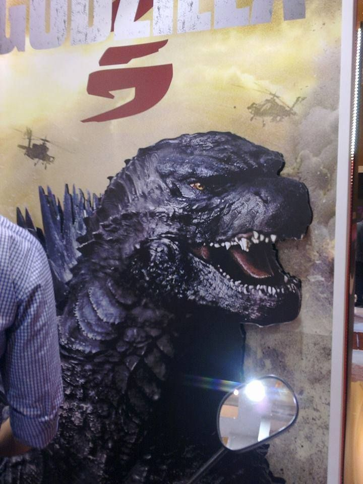 Official Godzilla 2014 Design Revealed on Brazilian Poster