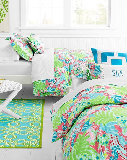 Lilly Pulitzer Sister Florals Bedroom Garnet Hill LOVE THIS