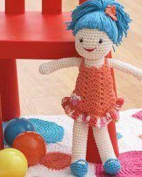 Quick and Easy Crochet Doll Amigurumi Pinterest