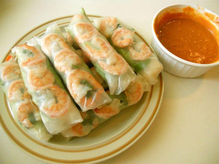 Pan Asian: Summer Rolls (Goi Cuon) — Vietnam http://riceandcurry ...