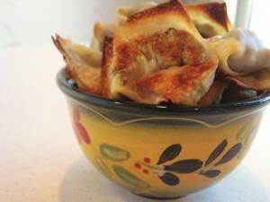 Baked Mushroom Wonton | Appetizers - Egg Rolls/Wontons/Potstickers ...