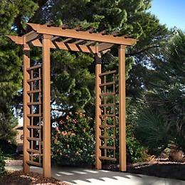 Japanese arbor Garden Pinterest