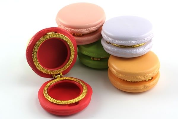 Macaron Limoge Trinket Box - I need one of these in my purse!