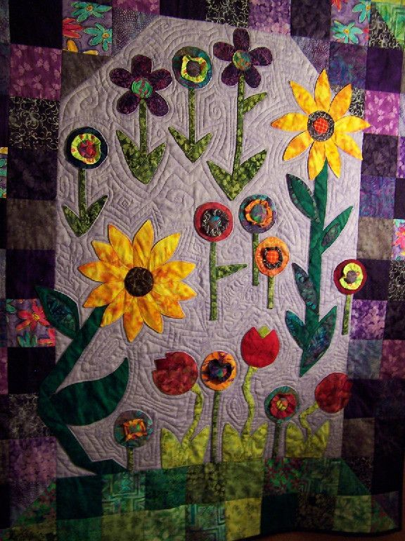 Great art quilts, etc.!