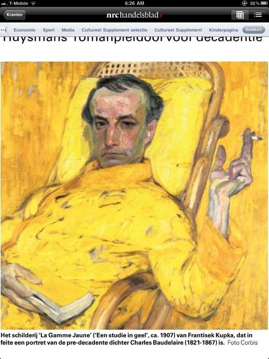 Yellow Charles Baudelaire | Yellow People | Pinterest Yellow