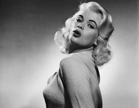 And 1960 s movie and b movie actress jayne mansfield was a big blonde